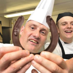 Michelin star glamour night with chocolate spectacular